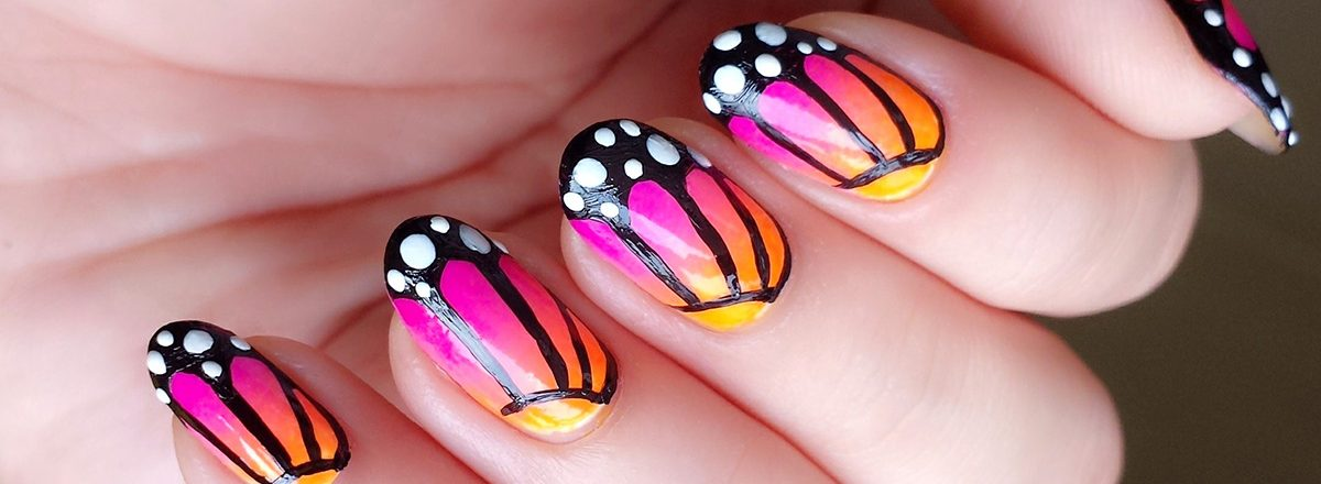 Easy Nail Art Designs For Short Nails  - FashionFA